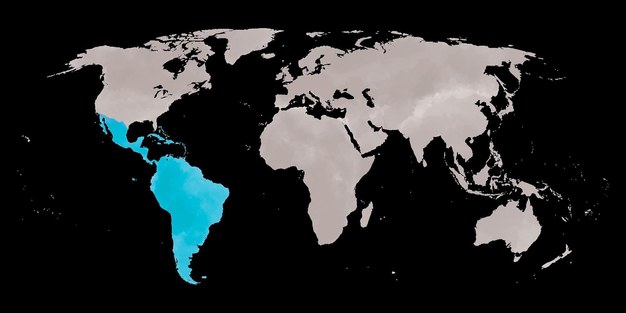 Caribbean Sun Map