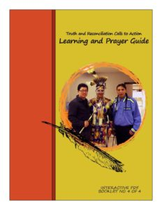 Truth and Reconciliation Prayer Guide, Truth and Reconciliation Prayer Guide