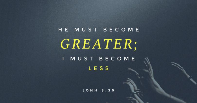 John Devotional, John 3: 22 – 36