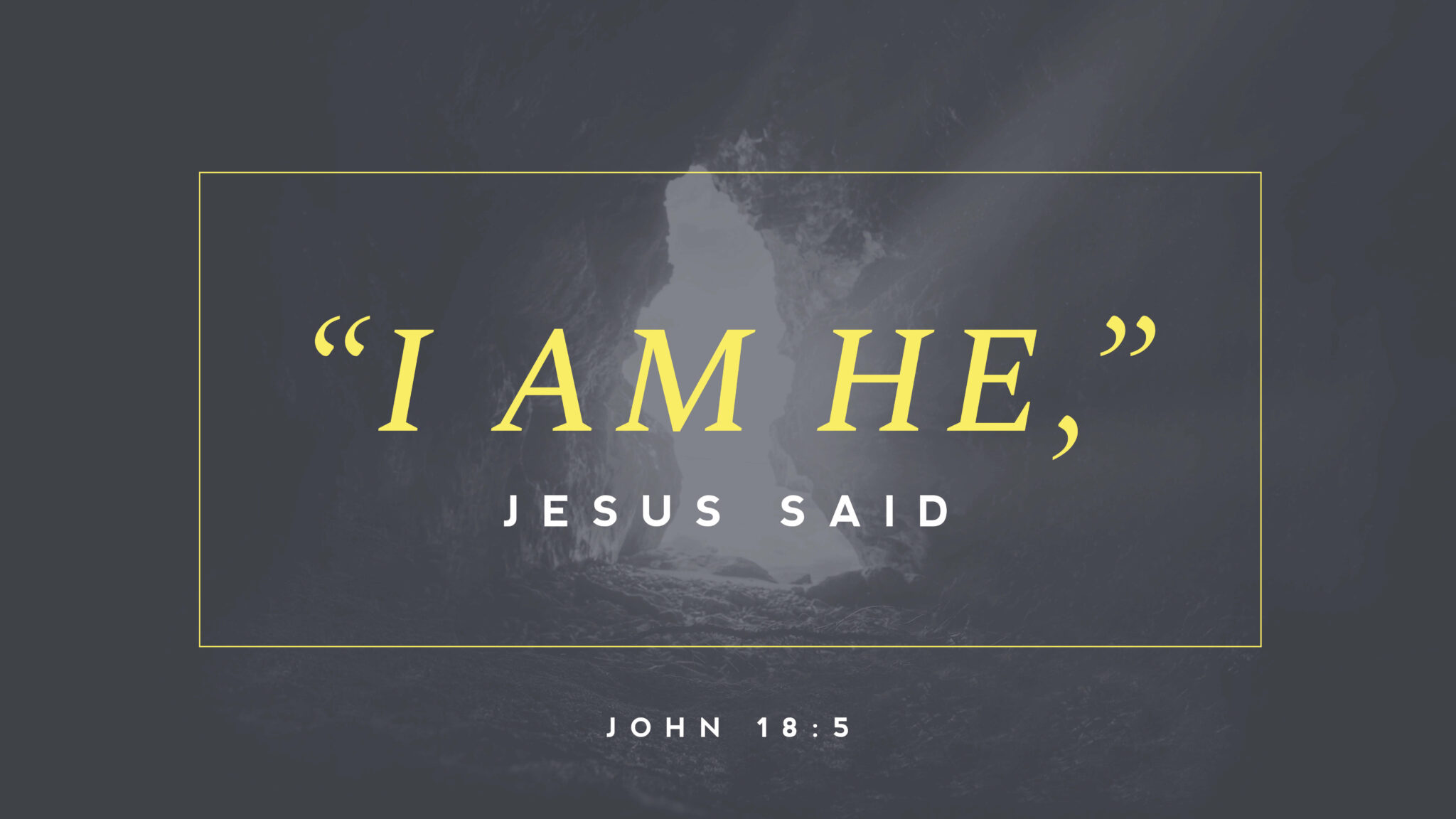 """Featured image for """"John 18: 1-27"""""""