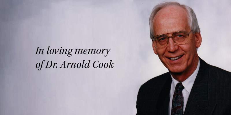 "Featured image for ""In Memory of Dr. Arnold Cook"""