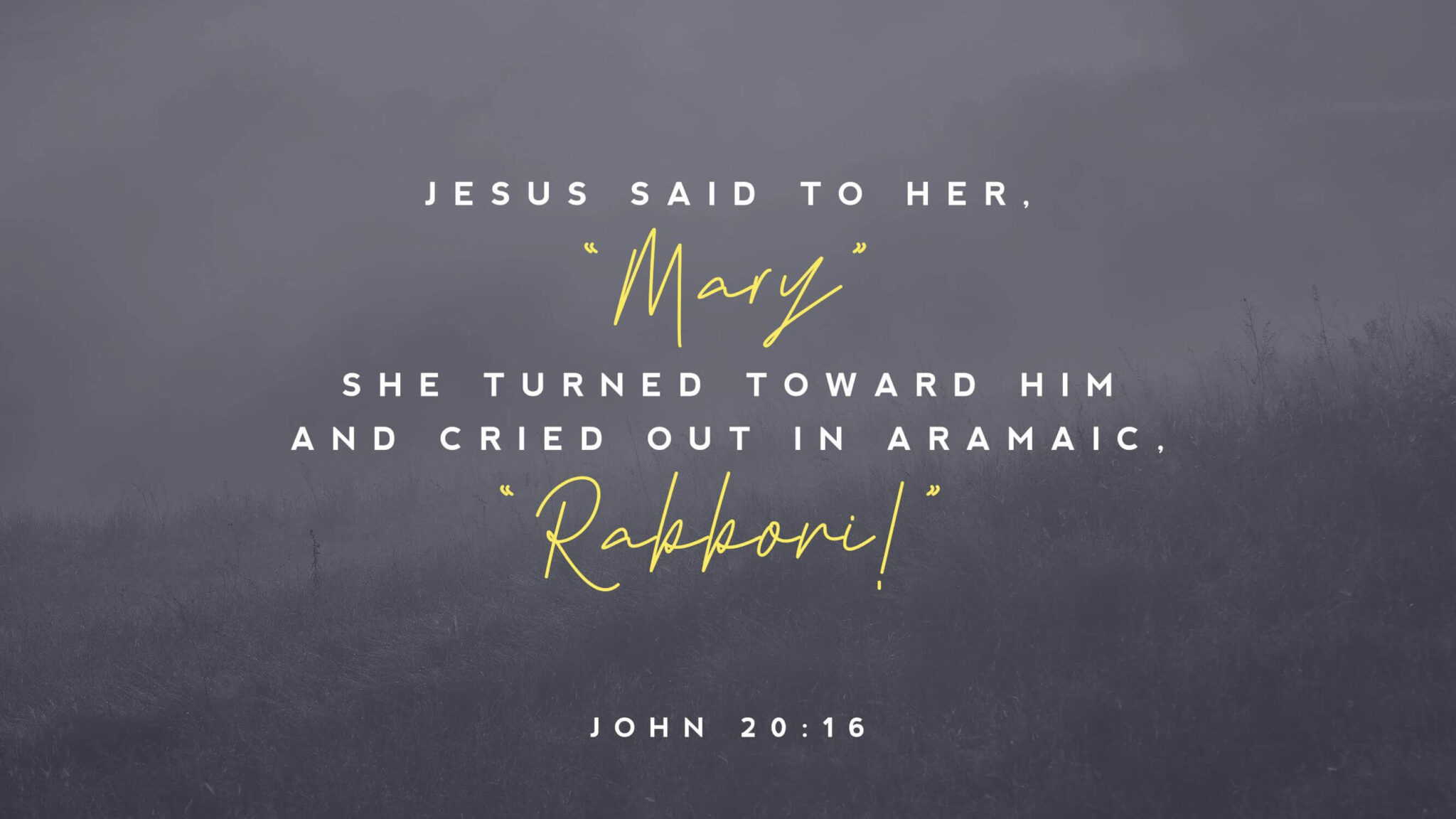 """Featured image for """"John 20: 11-18"""""""