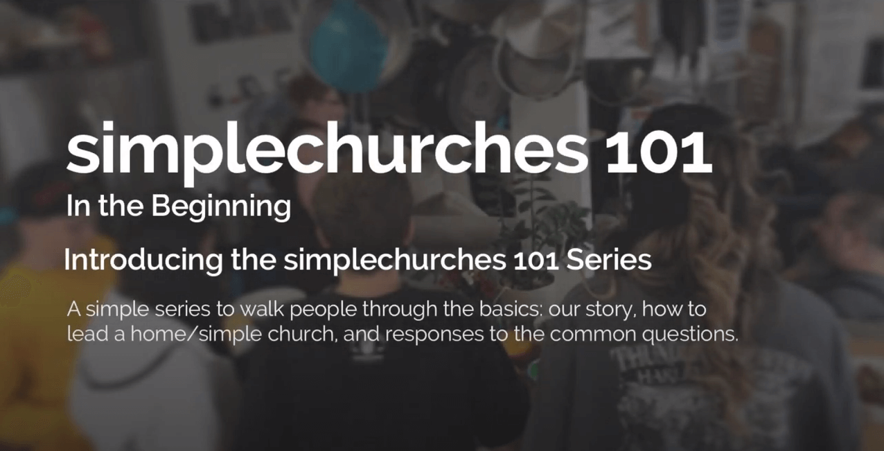 Simple Church 101