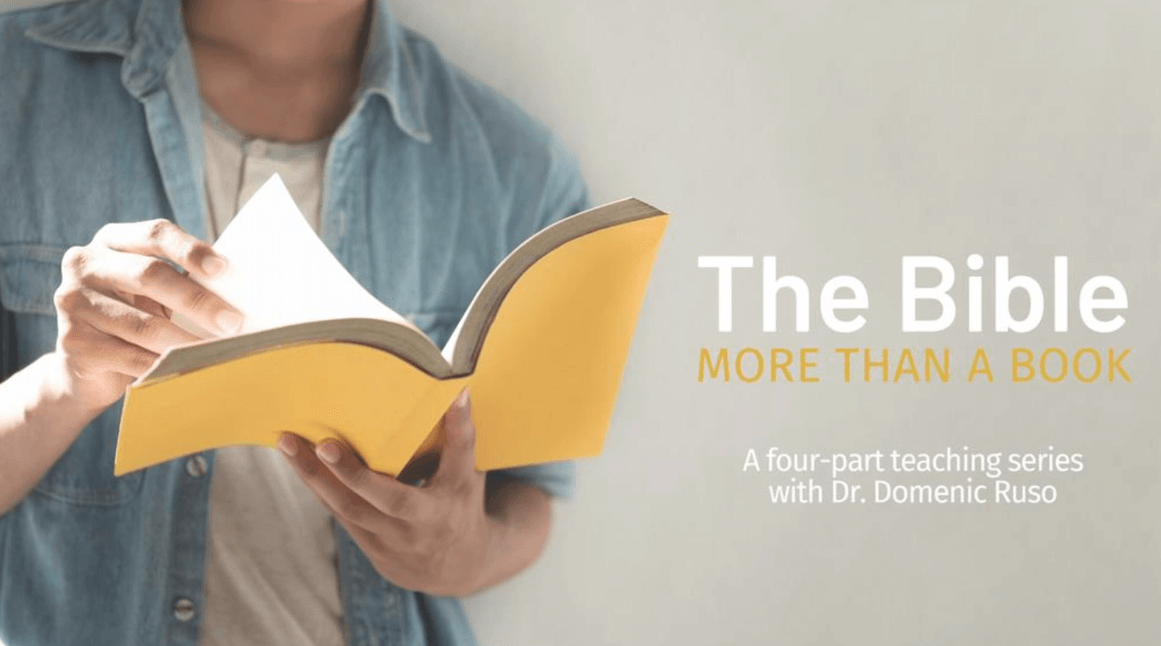 The Bible, More than a Book