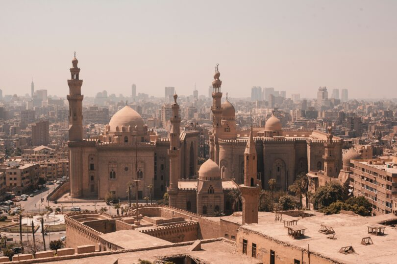 An overview of a middle eastern city